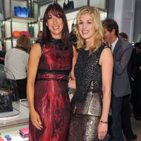 Samantha Cameron and Rosamund Pike