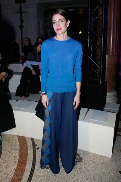 Charlotte Casiraghi at the Stella McCartney show, A/W17