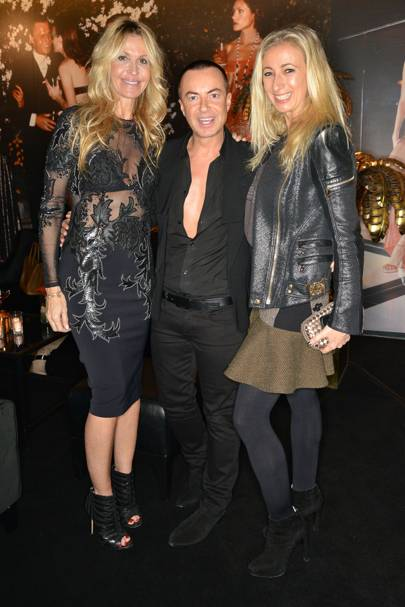 Melissa Odabash, Julian Macdonald and Jenny Halpern