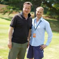 David Cameron and Nick Johnston