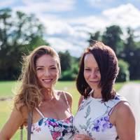 Louise McGrath and Caroline Ward