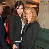 Ronni Ancona and Kelly Hoppen