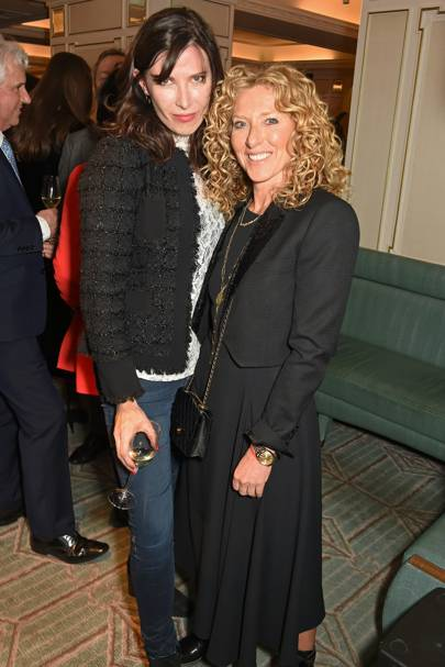 Ronni Ancona and Kelly Hoppen