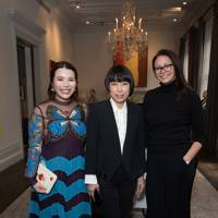 Wendy Yu, Angelica Cheung and Caroline Rush