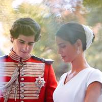 The Duke of Huescar and Sofia Palazuelo