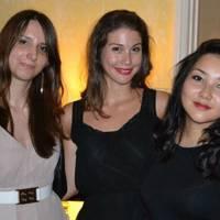 Alexandra Marsanu, Dzena Dzonlic and Toyaki Glumorfi