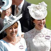 Carole Middleton and the Duchess of Cambridge