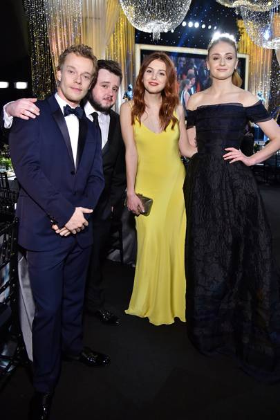 Alfie Allen,  John Bradley, Hannah Murray and Sophie Turner