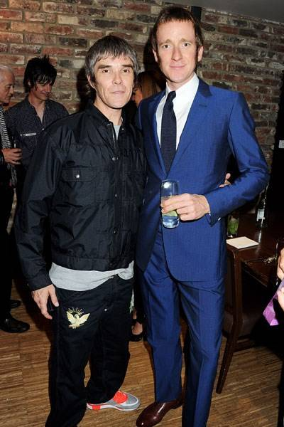 Ian Brown and Bradley Wiggins