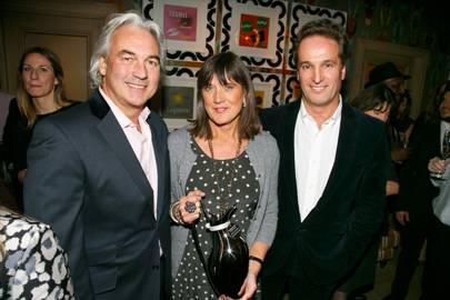 Robin Hutson, Judy Hutson and David Elton