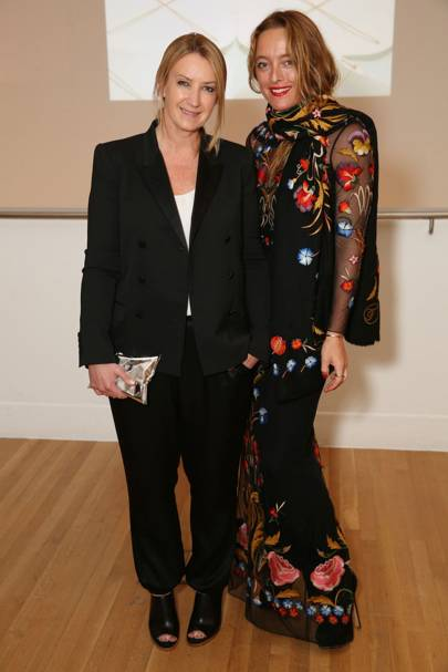 Anya Hindmarch and Alice Temperley