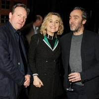 Neil Dudgeon, Sinéad Cusack and John Hannah
