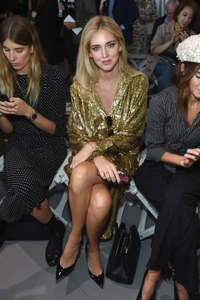 Chiara Ferragni at Michael Kors