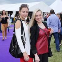 Egle Standtaite and Angie Grechnaya