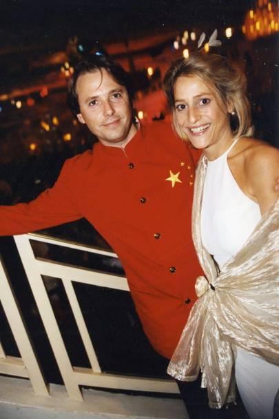 Mark Gwynne and Emily Maittis