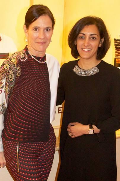 Kim Wempe and Zahra Kassim-Lakha