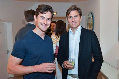 Charlie Siem and Archie Drury