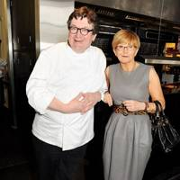 Rowley Leigh and Anne Robinson