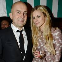 Marc Quinn and Laura Bailey