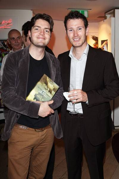 Tom Burke and Nick Moran