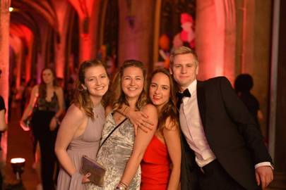 Flavia Hughes, Sophie Jade Hughes, Martha Robinson and Harry Margerison
