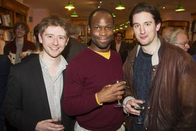 Niall Ransome, Stefan Adegbola and Edward Sayer