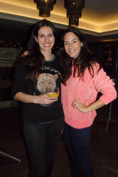Jennifer George and Luciana Bellini