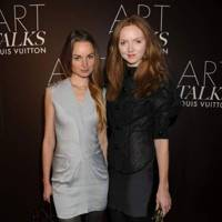 Katherine Poulton and Lily Cole