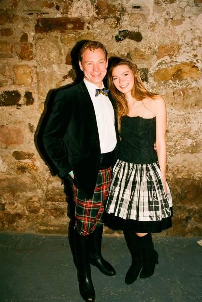Ollie Von Der Heyde and Ariana Brighenti