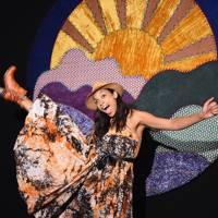 Rosario Dawson at Anna Sui