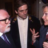 Lord Attenborough, Jeremy Lyons and Lady Puttnam