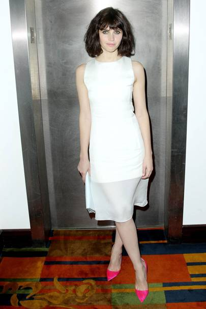 At The Invisible Woman film screening afterparty in New York, 2013