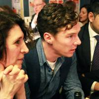 April De Angelis, Benedict Cumberbatch and  Chris de Pury