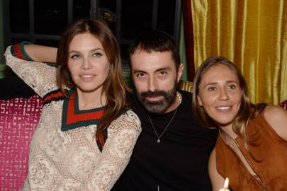 Dasha Zhukova, Giambattista Valli and Dasha Kantor