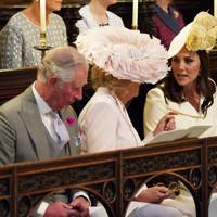 Prince Charles, Camilla Duchess of Cornwall and the Duchess of Cambridge