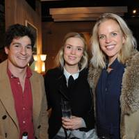 Henry Costa, Anna Beatty and Jenny Costa