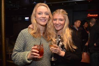 Chloe Vosper Brown and Nina Eadie