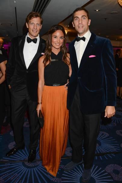 Nico Jackson, Pippa Middleton and Hugh Van Cutsem