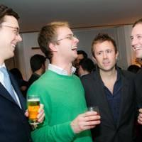 Oliver Jenkinson, Sam Grimston, Miles Frost and JJ Jardine Paterson