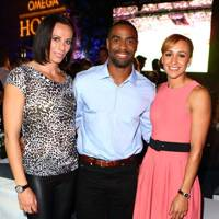 Jenn Suhr, Tyson Gay and Jessica Ennis