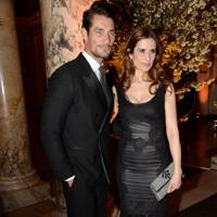 David Gandy and Livia Firth