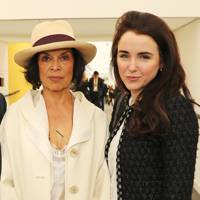 Bianca Jagger and Fiona McGovern