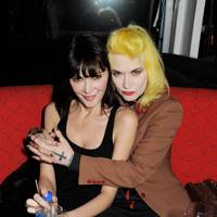 2012: With Pam Hogg  at the opening of SushiSamba
