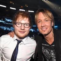 Ed Sheeran and Keith Urban