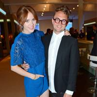 Angela Scanlon and James Wolf