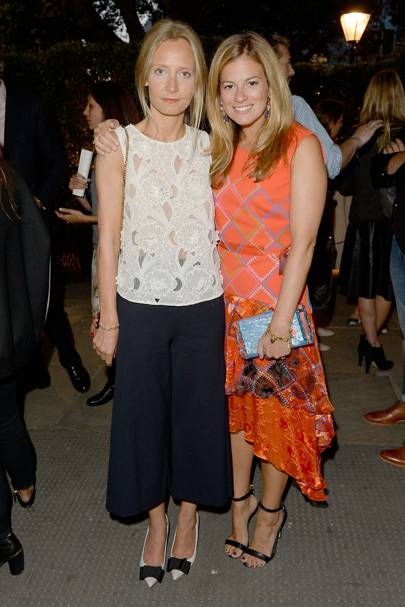 Martha Ward and Serena Hood
