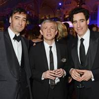 Alistair McGowan, Martin Freeman and Stephen Mangan