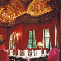 The private dining room at The Ritz
