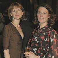 The Hon Frances Osborne and Simone Finn