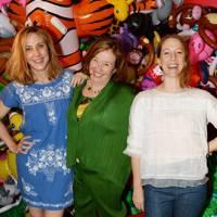 Anda Rowland, Josie Rowland and Louisa Rowland